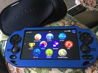 Sony ps vita wifi and sim with Fifa and 8gb memory card