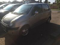 Silver Daewoo Matiz, very good condition and very good runner