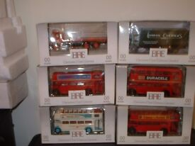 SIX E.F.E. DIECAST BUSES/LORRIES IN ORIGINAL BOXES