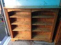 Solid Double Bookcase in Great Condition
