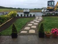 Mini digger and driver for hire call John 07734106801