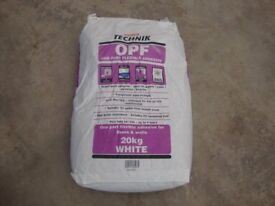 Tile Adhesive, Grout, Tile Trim, Silicone