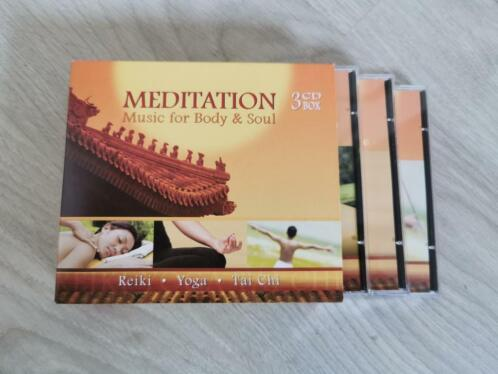 CD-box Meditatie