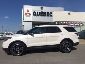 2015 Ford Explorer Sport 4X4 Cuir, Toit, GPS 7places