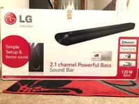 LG Soundbar & Subwoofer Bluetooth 120W