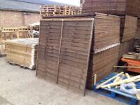 1.8 Metre Grange Lilyhurst Fence Panels (£15 Per Panel)