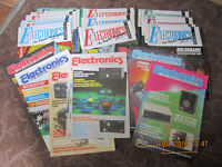 maplin electronics magazines (lot of 27) 1986 to 1991