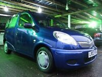 TOYOTA YARIS VERSO,, AUTOMATIC GEARBOX,, LOW MILEAGE,, FULL SERVICE HISTORY, EXCELLENT CONDITION