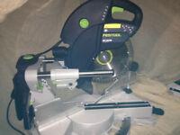 Festool KS120 561285 Kapex 260mm Slide Compound Mitre Saw 240v