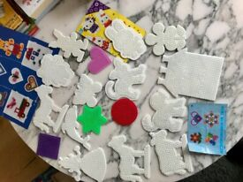 Pegboard Hama beads, 17 shapes