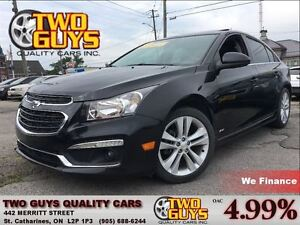 2015 Chevrolet Cruze 2LT R/S PACKAGE NICE LEATHER ALLOYS