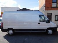 NO VAT Peugeot Boxer 330 LX LWB HDI 2.2 05 plate high top MOT'd (51)