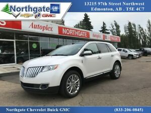 2015 Lincoln MKX AWD, Pearl White, Navigation, Sunroof