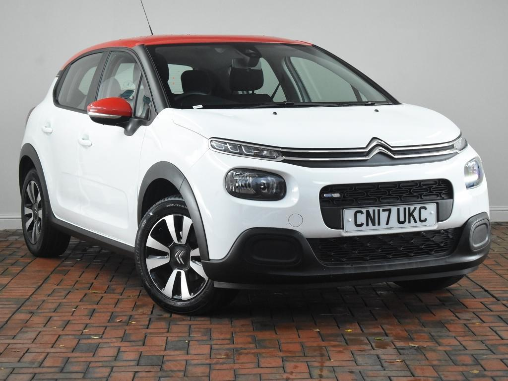 citroen c3 1 2 puretech feel apple carplay 5dr white 2017 in winsford cheshire gumtree. Black Bedroom Furniture Sets. Home Design Ideas