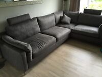 Corner sofa only 1 year old