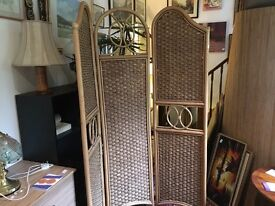 Decorative folding screen....free local delivery
