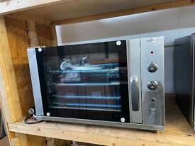 Commercial electric convection oven single phase