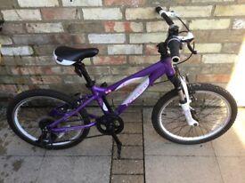 "Girls 20"" Luna mountain bike"