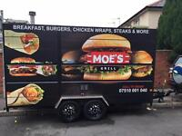 Burger van catering trailer Price Dropped sensible offers welcome