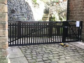 Gates and railings, fabrication and welding, repairs and restoration