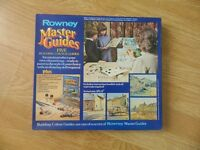 Vintage Rowney artists masters painting kit , 5 pictures , new and complete