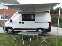 Lovely little clean camper van, great for festivals and trips