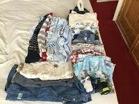 Boundle of clothes size 3-6 months and pram suit