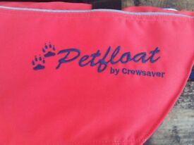 'CREW SAVER' Pet Afloat Dog Life Jacket - LARGE