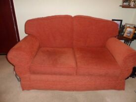 Matching 2 x 2 seater sofas and armchair FREE