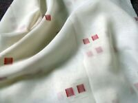 Voile. Material. New, 3 metre length fabric. Blind or window dressing. Curtain.
