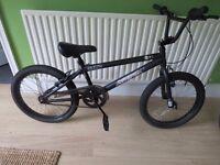 BMX Zinc Backbone 20 Inch BMX Bike...BLACK. BARGAIN £45..BRAND NEW..