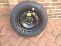 "Ford 14"" spare wheel & brand new tyre fiesta, focus, fusion 175 65 15"