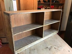 We have Four Free Standing Shelves