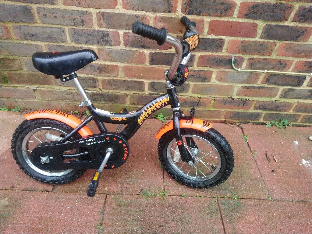 217c759f46e Kids Bike Epsom, Surrey A Schwinn Tiger Kid's Bike with a 12