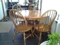 Palliser oval table and chairs