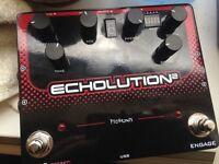Pigtronix Echolution 2 delay boxed mint
