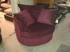 Swivel Cuddle Chairs