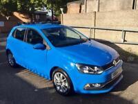2014(64) MK5 Volkswagen Polo Facelift 1.0 BlueMotion Start Stop with Sat NaV mileage 21K