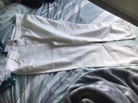 Brand new cream jeans