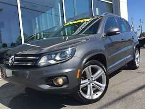 2014 Volkswagen Tiguan Highline R-LINE MAG 19¨CUIR TOIT PANORAMI