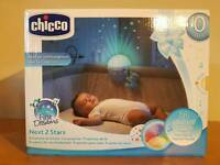 Chicco next 2 stars projector: like new.