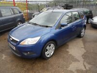 ford focus 1.8 tdci style 5dr 2008 facelift model,service history,full mot on purchase,£135 tax
