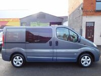 Low mileage Vauxhall Vivaro 2.0CDTi SWB sport 62 plate 6 seat factory fitted crew cab NO VAT (7)