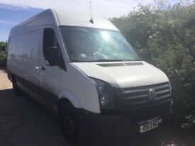2013 VW CRAFTER LONG WHEEKBASE WITH MOT GOOD ENGINE AND GESRBOX DRIVES FINE IDEAL FOR EXPORTERS