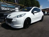 PEUGEOT 207 1.6 HDi GT 3dr (white) 2008
