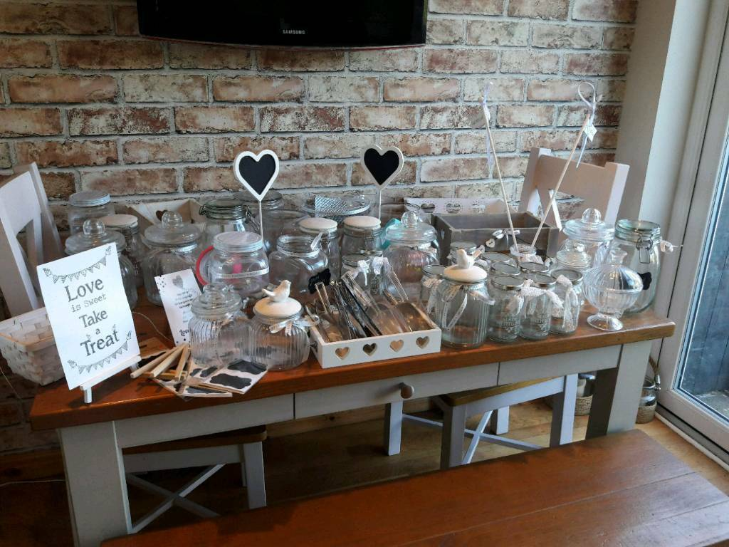 Wedding Sweet Table Accessories In Whitley Bay Tyne And Wear
