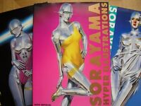 Three Collectable Sexy Robots paperback books.