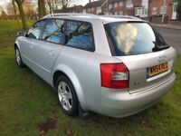 AUDI A4 ESTATE 1.9 TDI ( IMMACULATE ) ( ANY OLD CAR PX WELCOME
