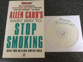 Allen Carr's - Easy Way To Stop Smoking + DVD