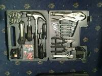 Tool set in case. Never used, in excellent condition.